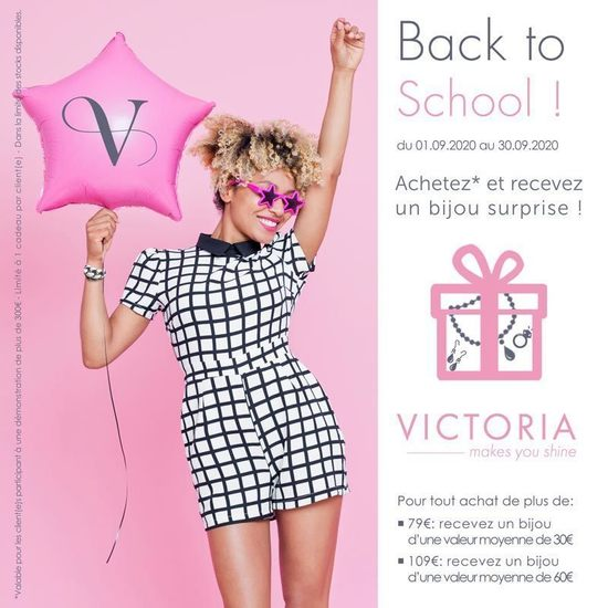 Bijoux Claudine - Back to school