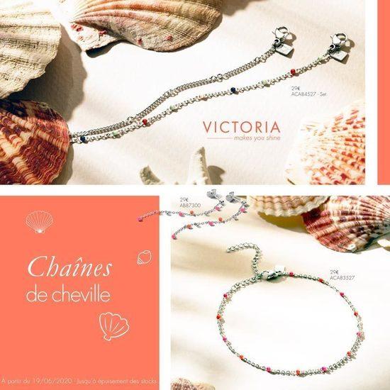 Bijoux Claudine - les chevillères